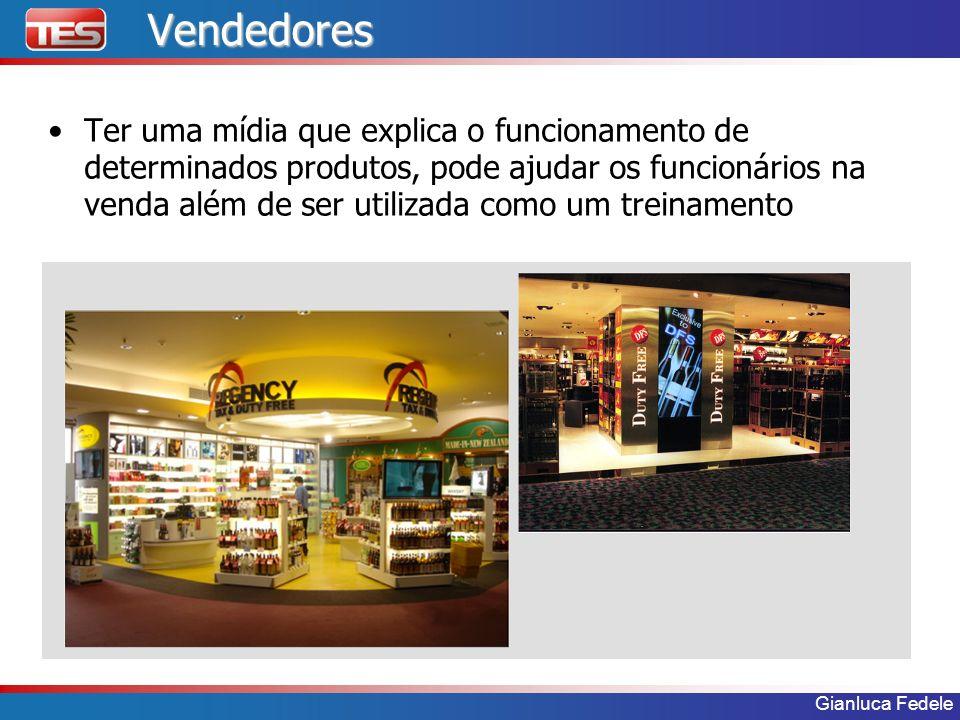 Gianluca FedeleVendedores Ter uma mídia que explica o funcionamento de determinados produtos, pode ajudar os funcionários na venda além de ser utiliza