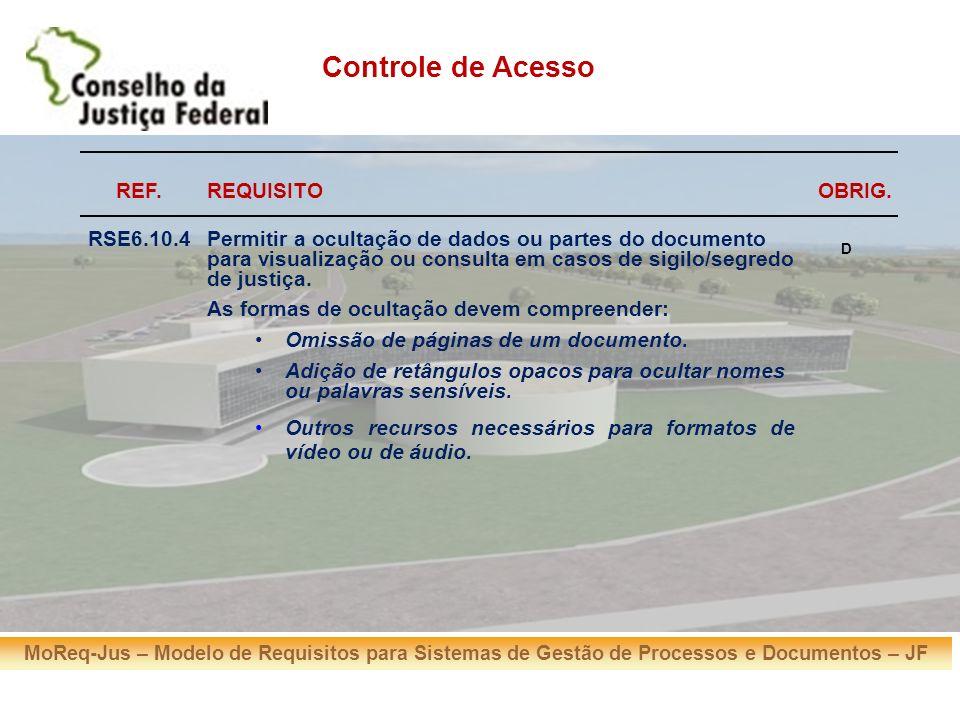 MoReq-Jus – Modelo de Requisitos para Sistemas de Gestão de Processos e Documentos – JF Obrigado pela atenção, Eduardo Weber ejw@trf4.gov.br Dúvidas / questionamentos