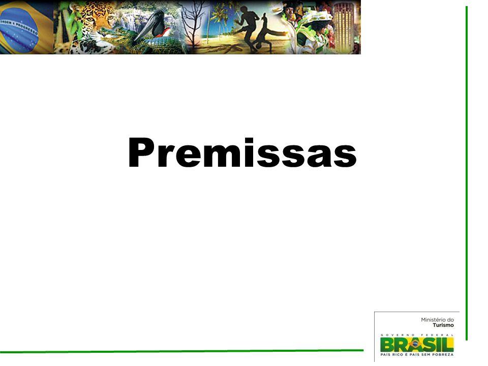 Diagnóstico Turismo no Brasil Crescimento do turismo doméstico – Classe C; Expansão do crédito para o setor; Expansão dos gastos públicos com infraestrutura, qualificação profissional e promoção; Promulgação da Lei do Turismo e do Decreto Regulamentador; Fortalecimento da gestão descentralizada do turismo; Visibilidade com a realização dos megaeventos Estabilidade na entrada de turistas estrangeiros; Voltar Estrutura