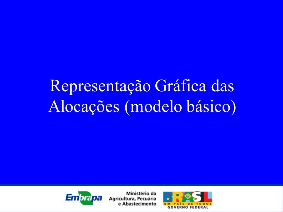 Representação Gráfica das Alocações (modelo básico)