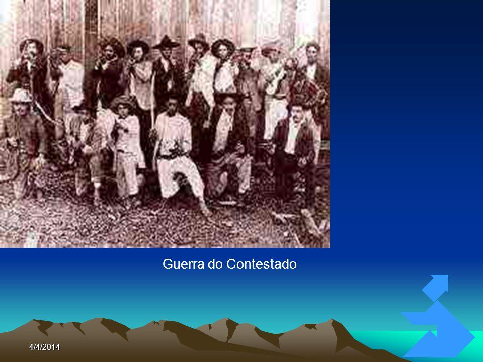4/4/201481 O CANGAÇO Nordeste Brasileiro Banditismo Social Forma de Contestação Social Lampião 1938: Fim do Cangaço