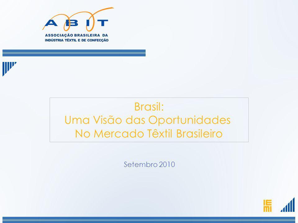 apresenta: Brasil: Uma Visão das Oportunidades No Mercado Têxtil Brasileiro Setembro 2010