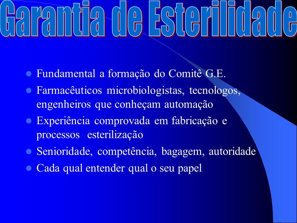 Fundamental a formação do Comitê G.E.