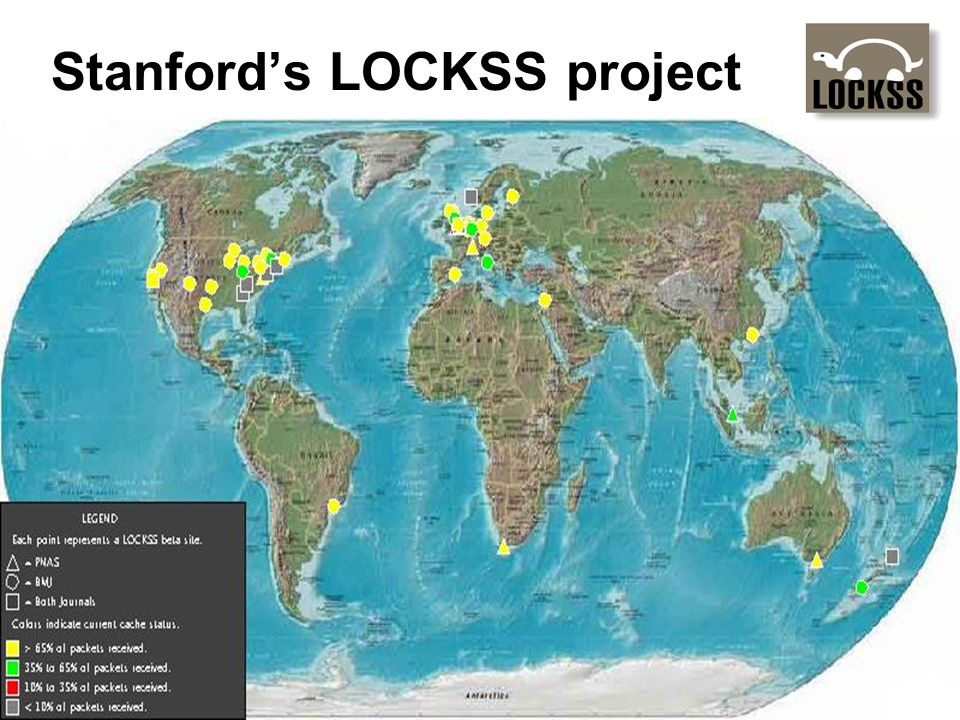 Stanfords LOCKSS project