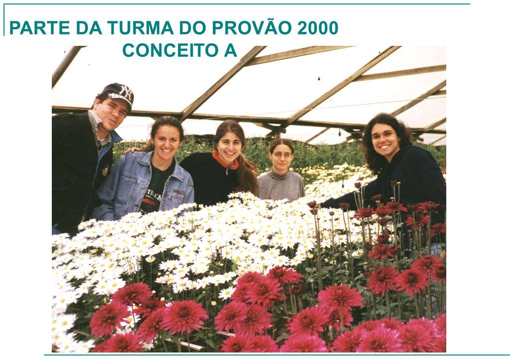 PARTE DA TURMA DO PROVÃO 2000 CONCEITO A