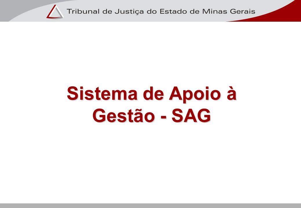 Descrição do Atual Ambiente Tecnológico do SAG Base de dados Os dados do SAG estão baseados no banco de dados relacional Oracle Database Server versão 9i.