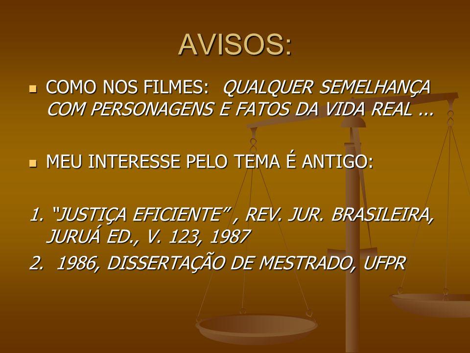 AVISOS: COMO NOS FILMES: QUALQUER SEMELHANÇA COM PERSONAGENS E FATOS DA VIDA REAL... COMO NOS FILMES: QUALQUER SEMELHANÇA COM PERSONAGENS E FATOS DA V