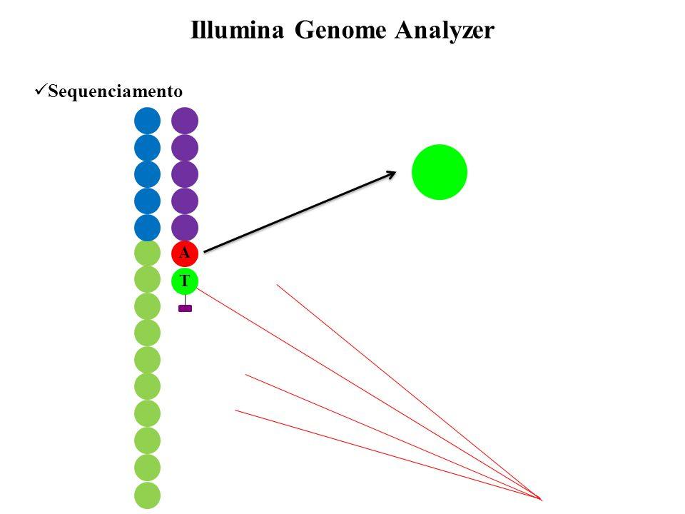 Sequenciamento Illumina Genome Analyzer A T