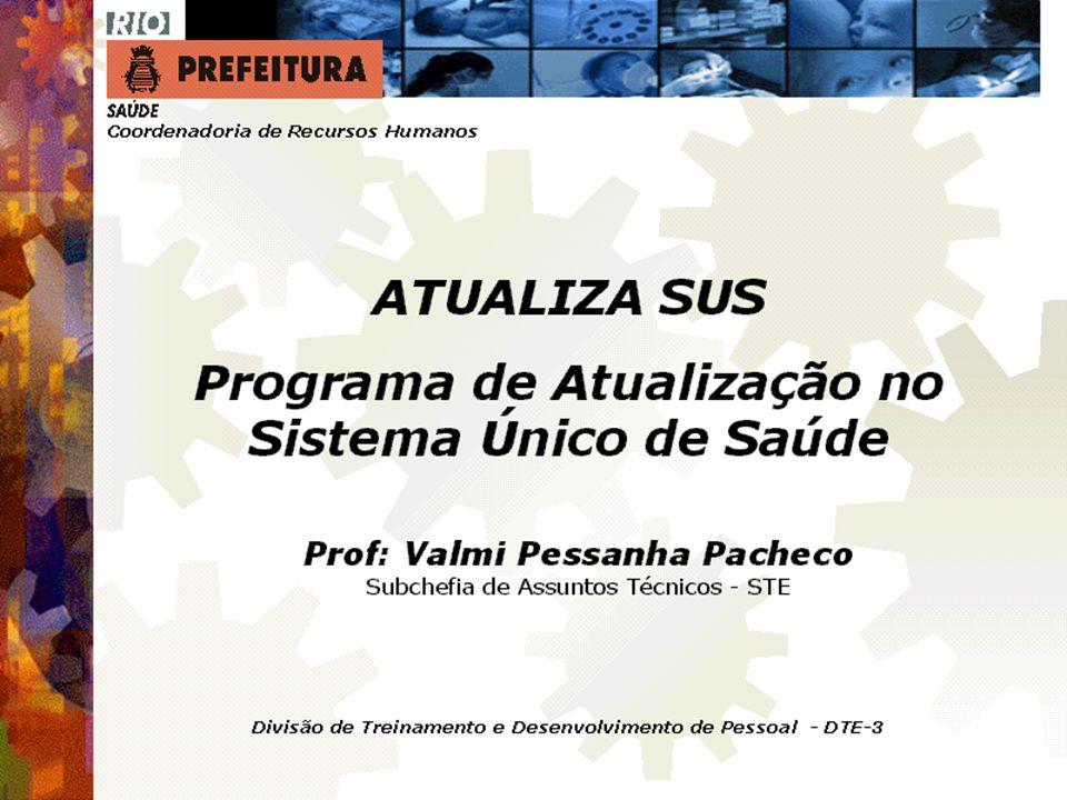 Seminário Atualiza SUS-I SMS-RIO 62 VP2 Abr/Mai.