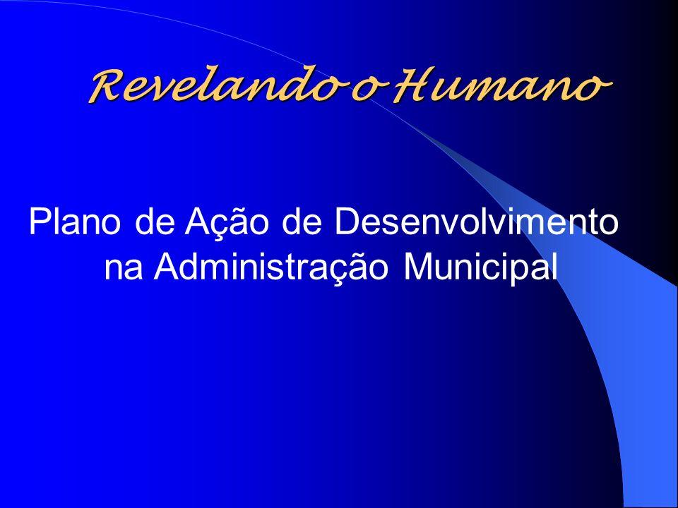 Revelando o Humano Plano de Ação de Desenvolvimento na Administração Municipal