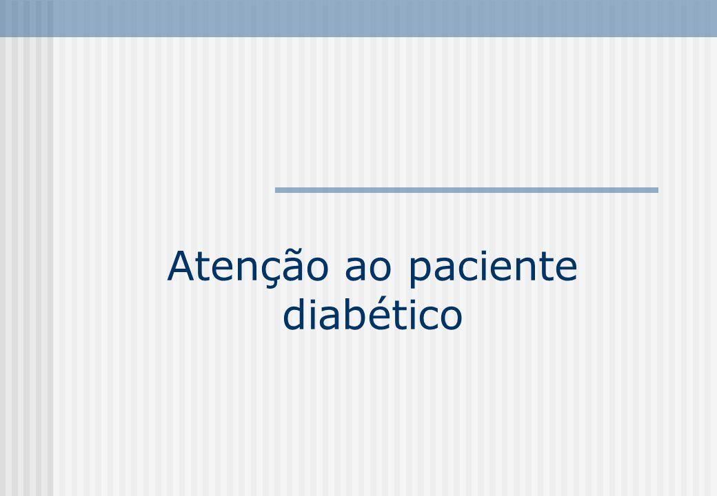 Atenção ao paciente diabético