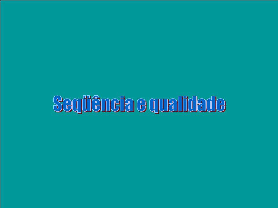 (A) 20 0 AUG Um mRNA & suas ESTs (A) 20 0 (T) 18 cDNA (fita -) AUG (A) 18 cDNA (fita +) (T) 18 cDNA (fita -) (A) 18 ATG ATCATGACTTACGGGCGCGCGAT GGCGCGCGATATCC A A A T T T A T T A T C C 3EST 5EST A A A T T T A T T A T C C A T C T A C G