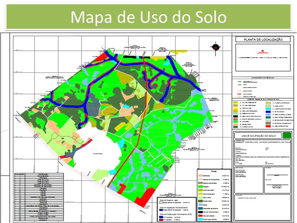 Mapa de Uso do Solo