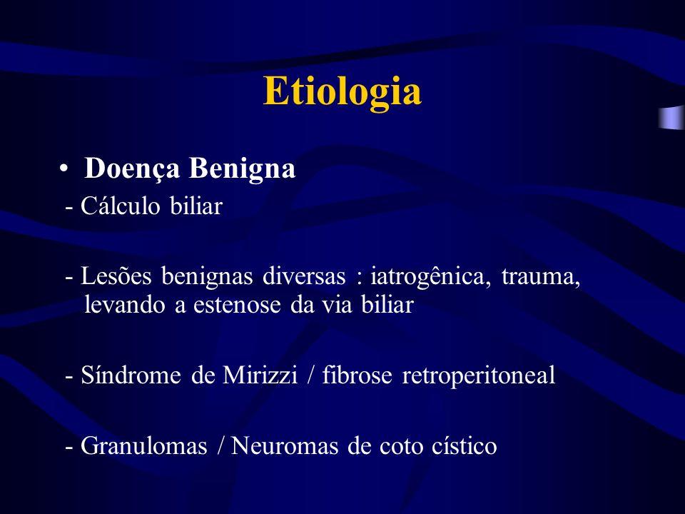 Diagnóstico Anamnese Exame físico Laboratoriais: bilirrubinas, fosfatase alcalina e GGT, albumina, TAP, PTT.