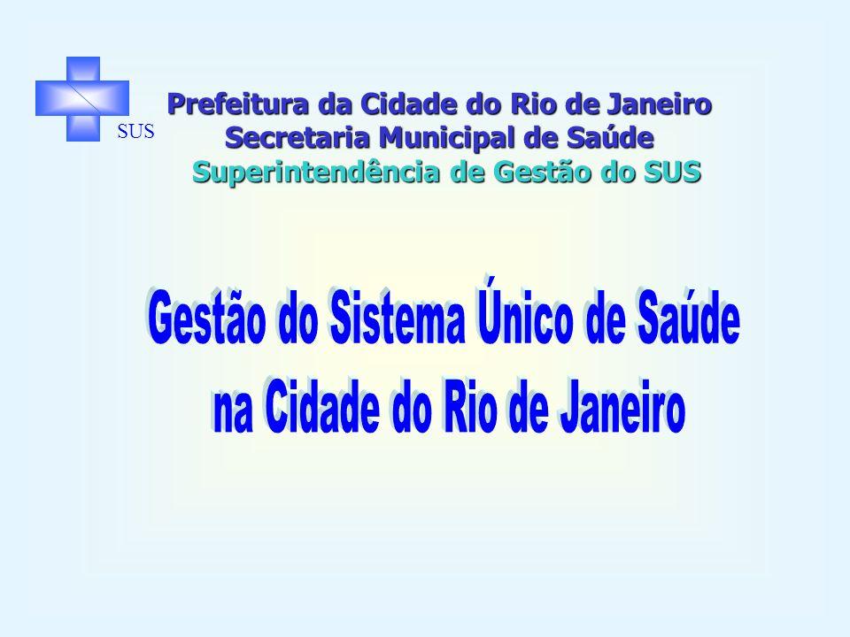 Prefeitura da Cidade do Rio de Janeiro Secretaria Municipal de Saúde Superintendência de Gestão do SUS SUS O SUS e a Tomada de Decisão