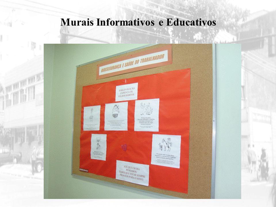 Murais Informativos e Educativos