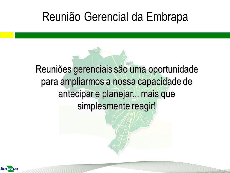 Nivelamento Estratégia Governança Abertura do capital da Embrapa – PLS 222 X Subsidiária Integral Substitutivo PLS 222 Destaques e Prioridades da Programação