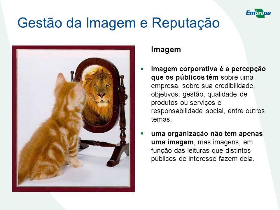 Imagem imagem corporativa é a percepção que os públicos têm sobre uma empresa, sobre sua credibilidade, objetivos, gestão, qualidade de produtos ou se