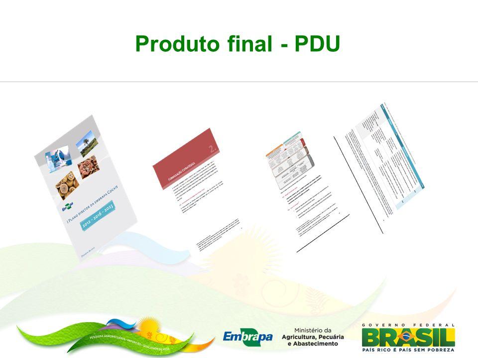 Produto final - PDU