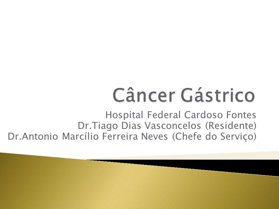 Hospital Federal Cardoso Fontes Dr.Tiago Dias Vasconcelos (Residente) Dr.Antonio Marcílio Ferreira Neves (Chefe do Serviço)