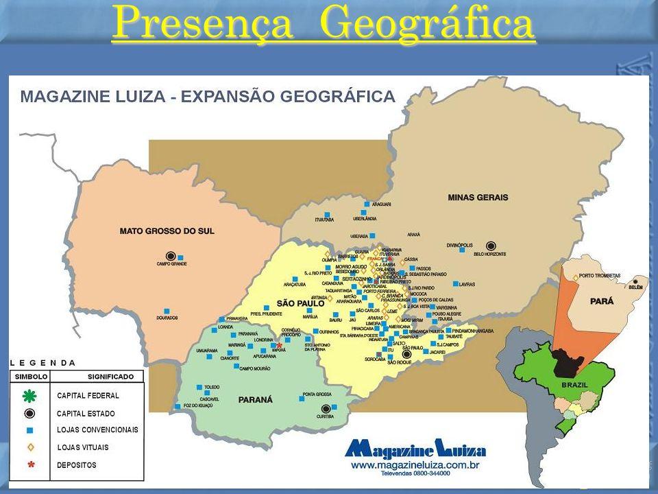 Presença Geográfica