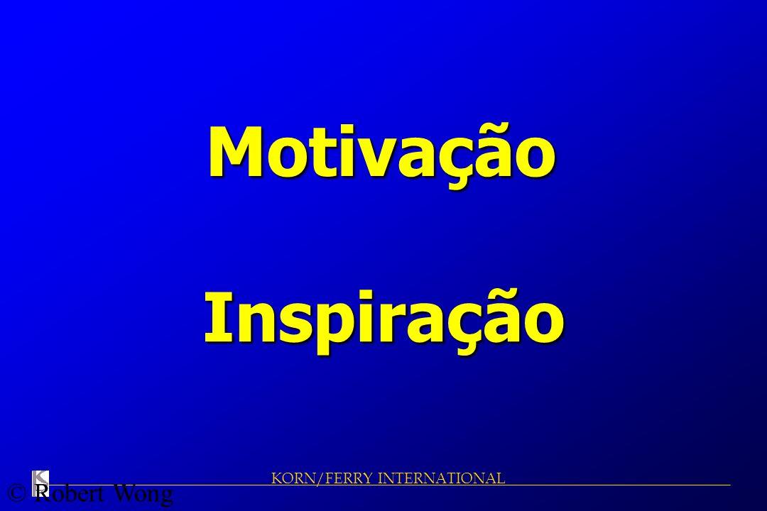 KORN/FERRY INTERNATIONAL Motivação Inspiração © Robert Wong