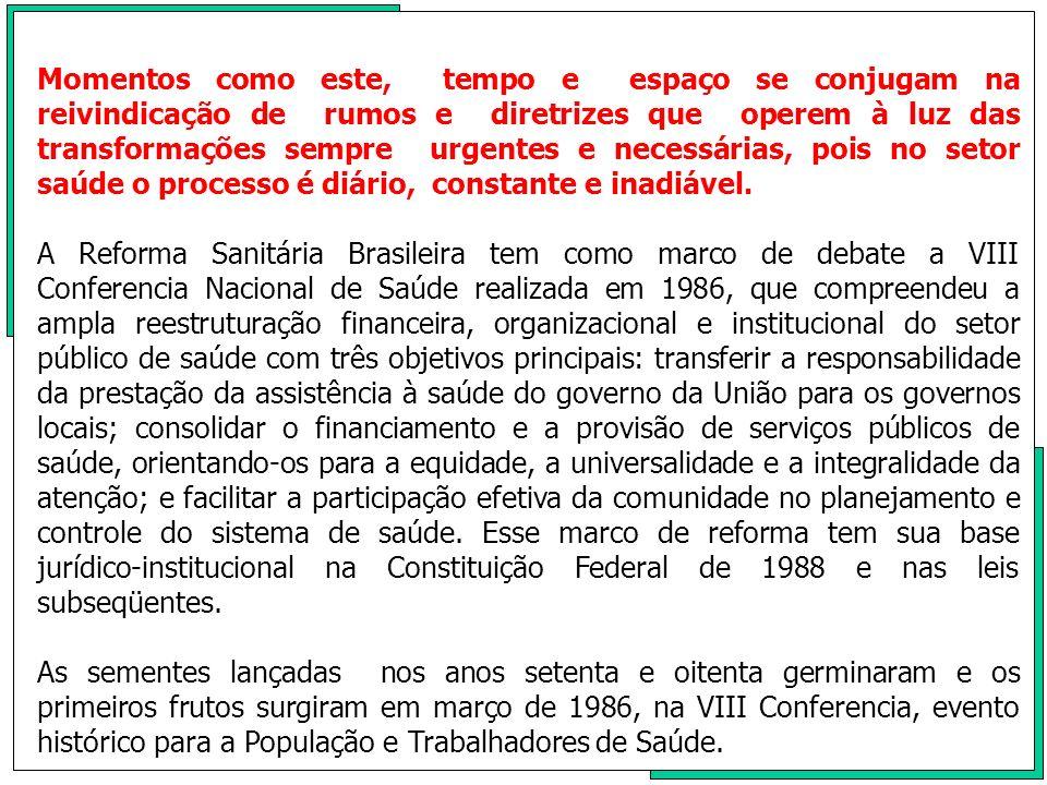 No terceiro dia da conferencia ocorreu,em uma das alas do ginásio de esportes de Brasília, uma reunião que foi coordenada por Nelson Rodrigues dos Santos, então Secretário Municipal de Saúde de Campinas.Resultou um documento,com oitenta e quatro assinaturas que defende as tônicas da descentralização com autonomia municipal,prepara a ocupação de espaços pelo movimento municipalista, nas CIS estaduais e na CIPLAN,bem como,a estratégia para a organização dos organismos estaduais dos Secretários Municipais de Saúde, com vistas a fundação de uma organização nacional.Mesmo negociada com a Comissão Organizadora,não foi incluído no Relatório Final da Conferência, o nosso documento.