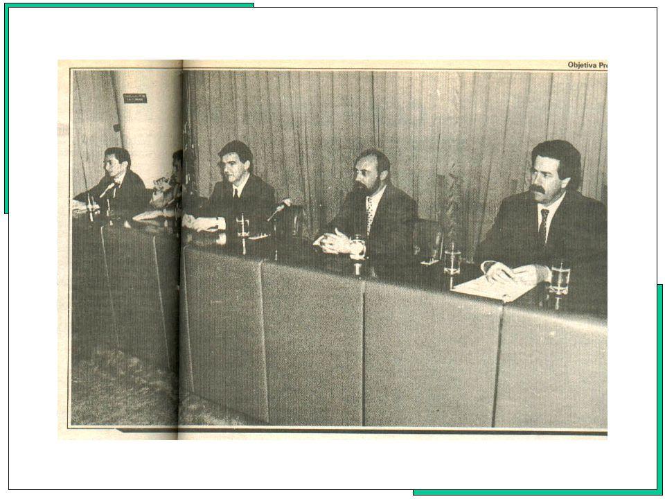 Em 1991, ocorre no dia 25 de Abril no auditório Emilio Ribas, do Ministério da Saúde, em Brasília, a primeira reunião do novo Conselho Nacional de Saúde, da gestão do período de 1991/1995, onde se deu a posse oficial dos novos Conselheiros, nomeados pelo Decreto de 28 de março de 1991, do Exmo.