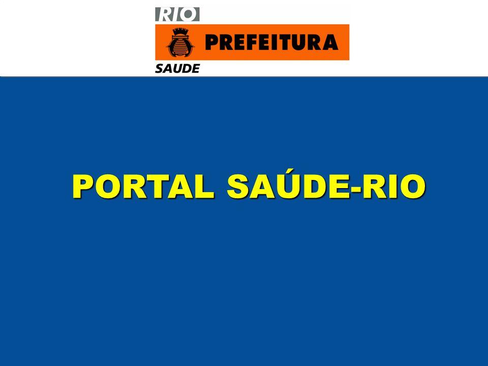 PORTAL SAÚDE-RIO PORTAL SAÚDE-RIO