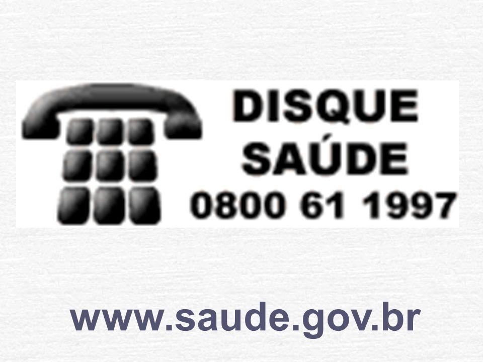 0800 644 8001 www.saude.gov.br