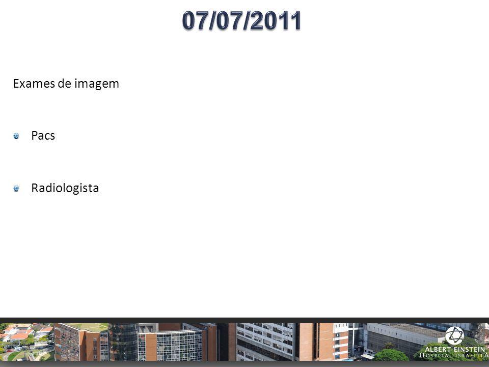 Exames de imagem Pacs Radiologista
