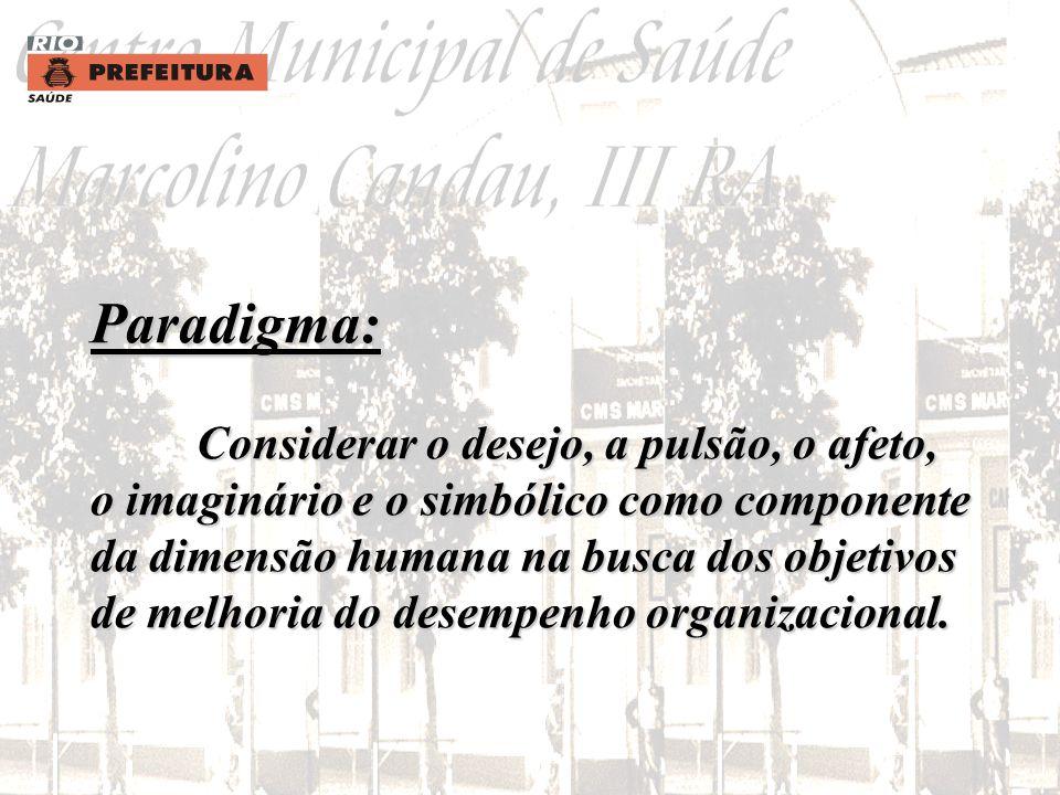 Filosofia Gerencial: Desenvolver uma cultura organizacional flexível enfocada nas necessidades dos usuários e no resgate da própria dignidade do funci