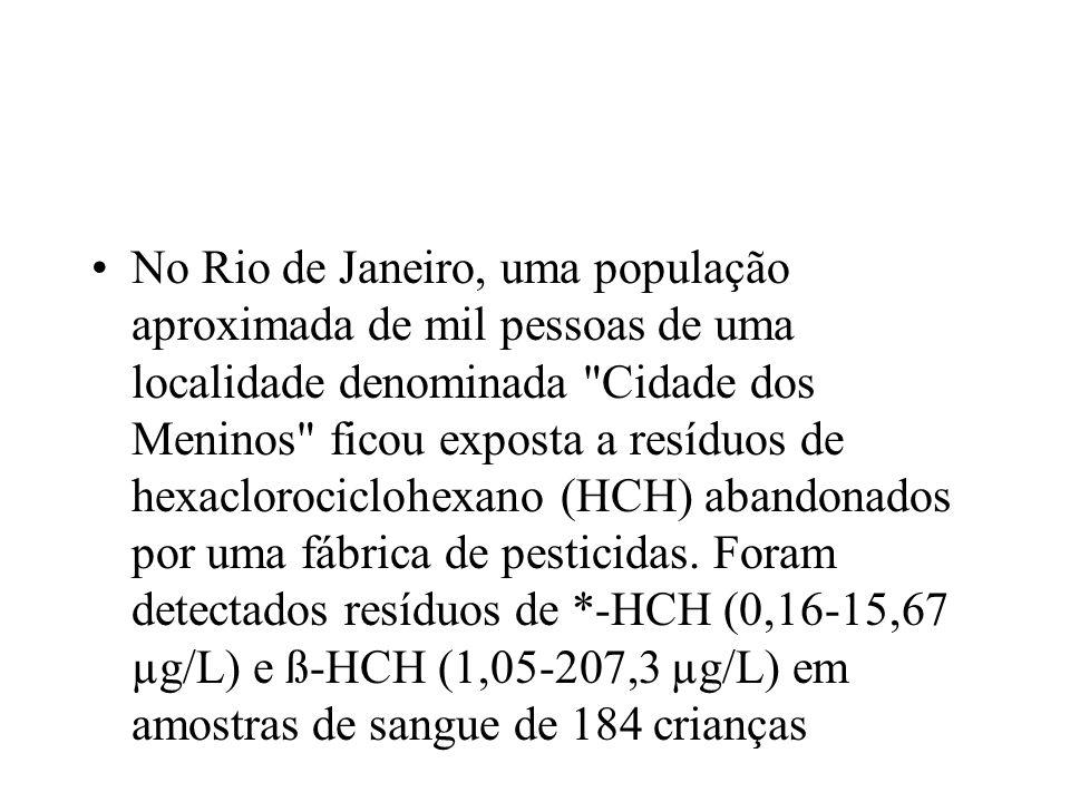 No Rio de Janeiro, uma população aproximada de mil pessoas de uma localidade denominada