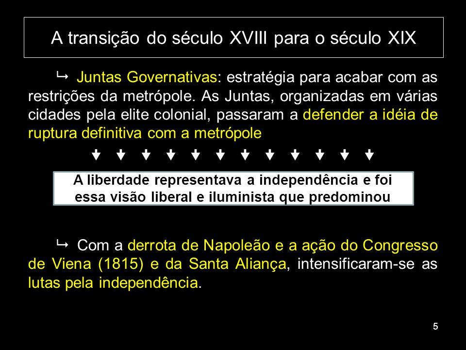 Relembrando a estrutura administrativa da América Espanhola 6