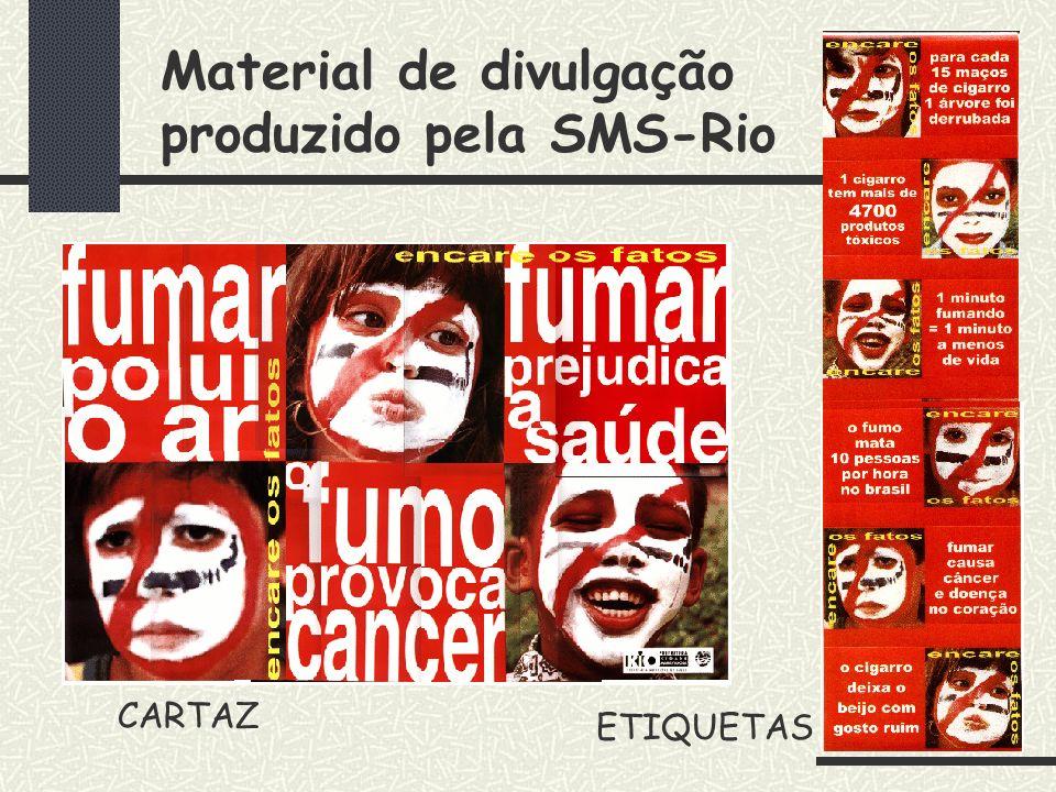 Ambiente Livre de Fumo PS Eitel Pinheiro – Bangu Hoje temos: 22 Unidades Livres de Fumo e estamos implantando o Ambiente Livre de Fumo no nível centra