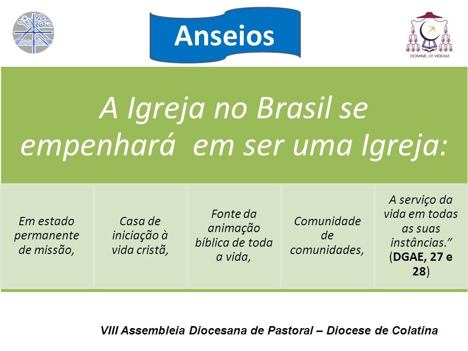 A Igreja no Brasil se empenhará em ser uma Igreja: Em estado permanente de missão, Casa de iniciação à vida cristã, Fonte da animação bíblica de toda