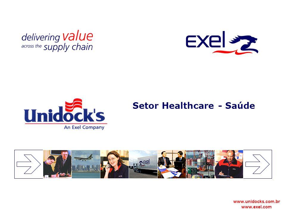 www.unidocks.com.br www.exel.com Setor Healthcare - Saúde