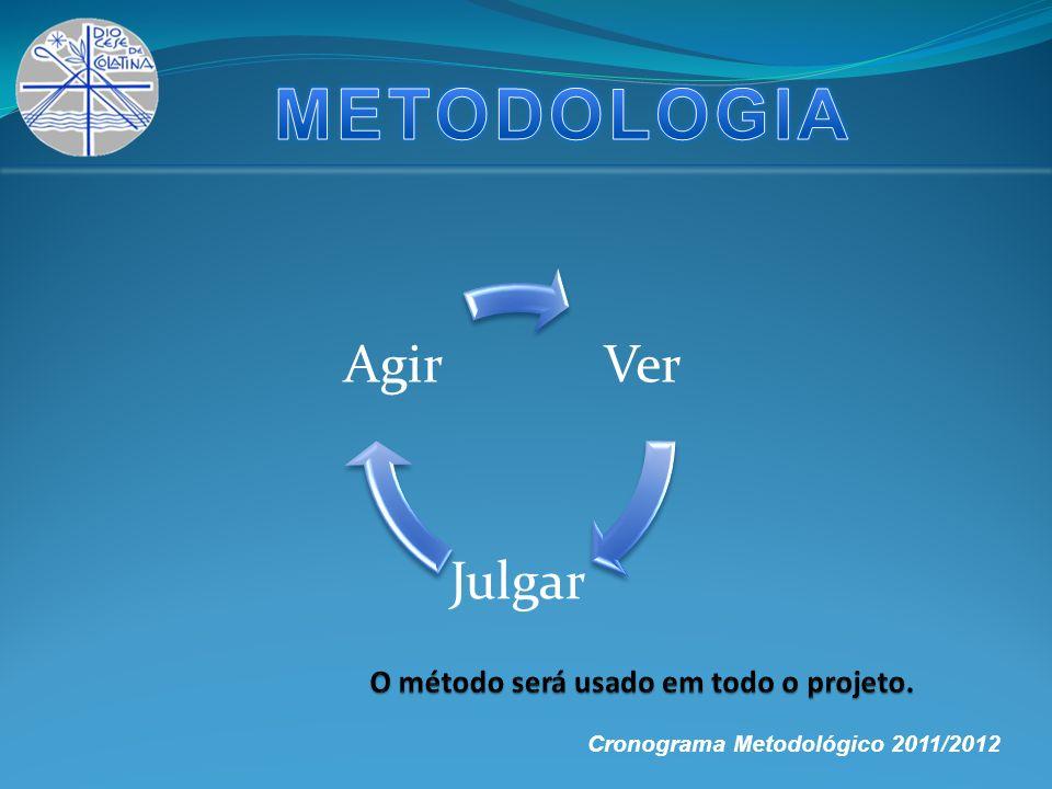 Ver Julgar Agir Cronograma Metodológico 2011/2012