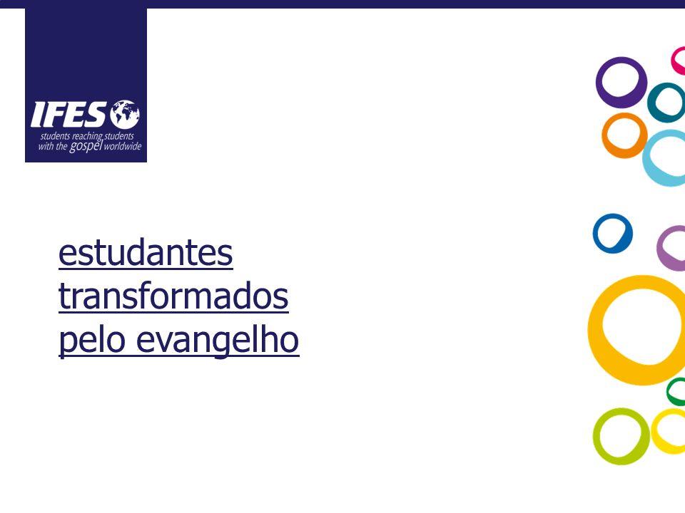 estudantes transformados pelo evangelho