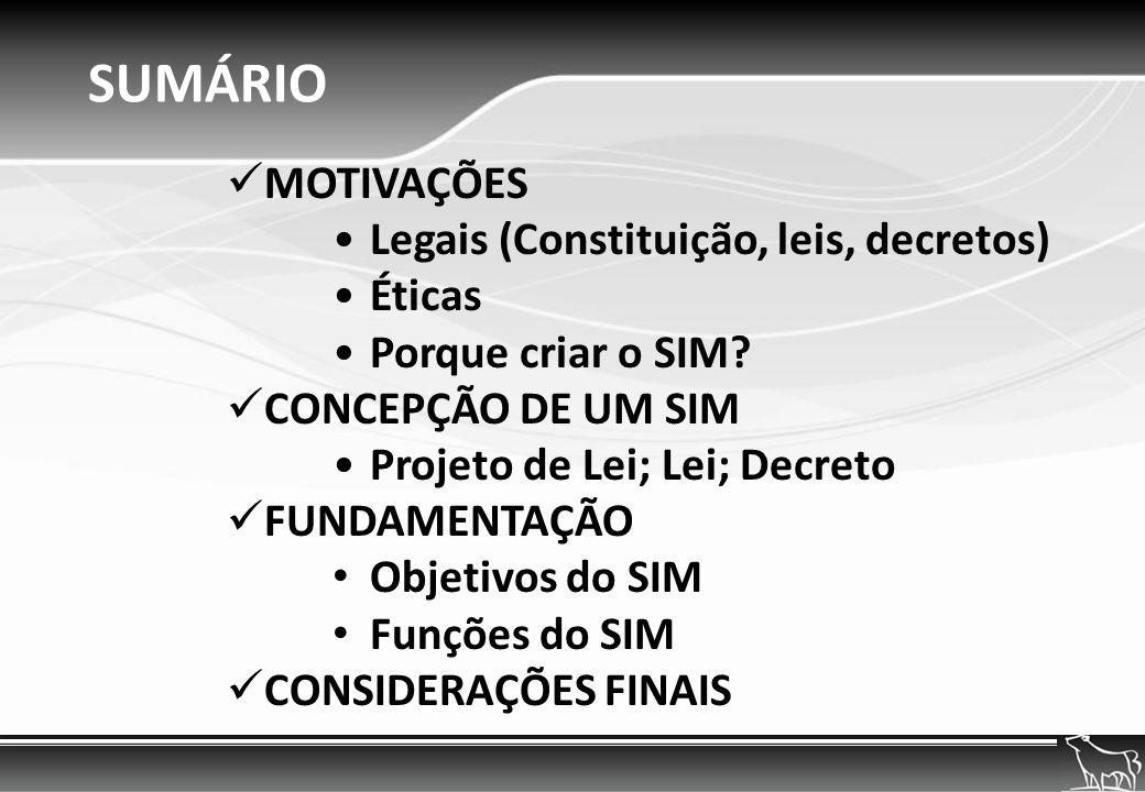 MOTIVAÇÃO Constitucional A Constituição Federal considera de relevância pública as ações e serviços de saúde; O Art.