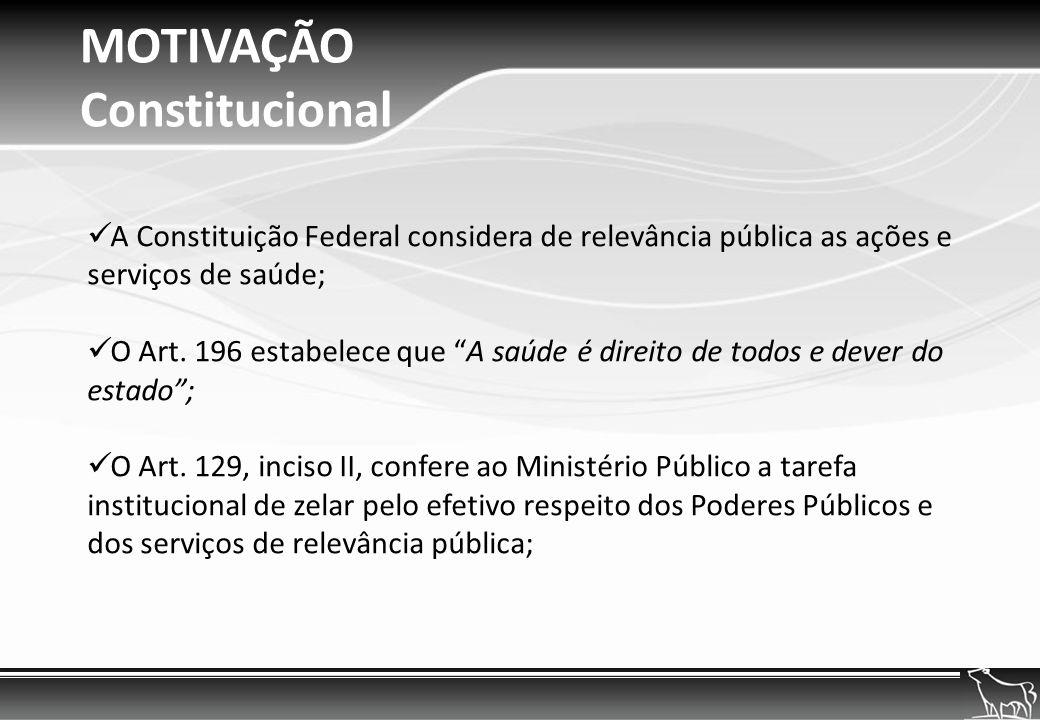 MOTIVAÇÃO - CDC - O Código de Defesa do Consumidor impõe ao município a fiscalização e controle da produção, industrialização, distribuição e mercado de consumo, nos seguintes termos: Art.