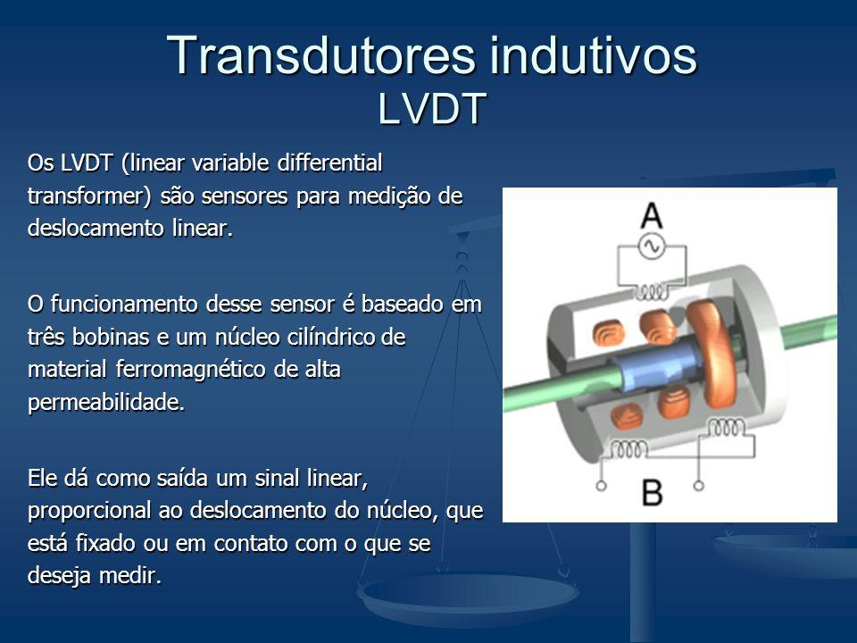Os LVDT (linear variable differential transformer) são sensores para medição de deslocamento linear. O funcionamento desse sensor é baseado em três bo