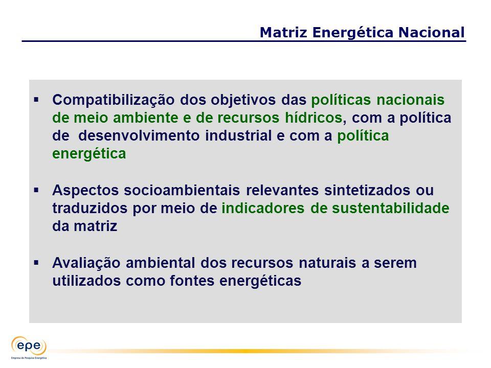 Compatibilização dos objetivos das políticas nacionais de meio ambiente e de recursos hídricos, com a política de desenvolvimento industrial e com a p