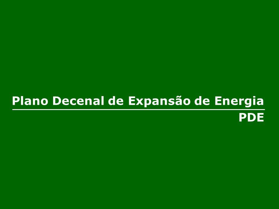 Plano Decenal de Expansão de Energia PDE