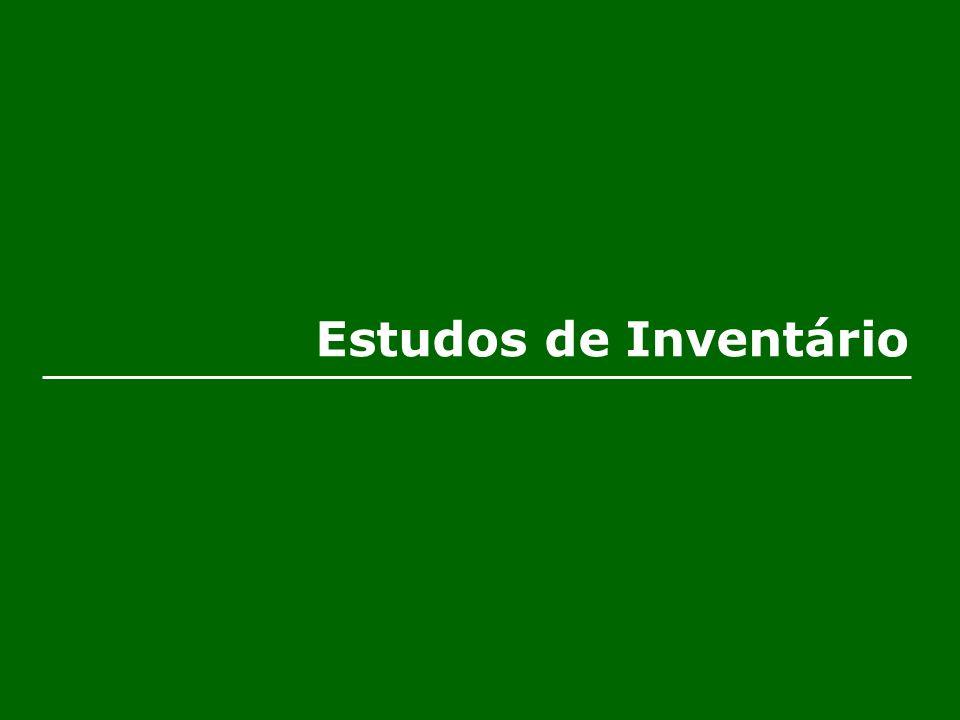 Estudos de Inventário