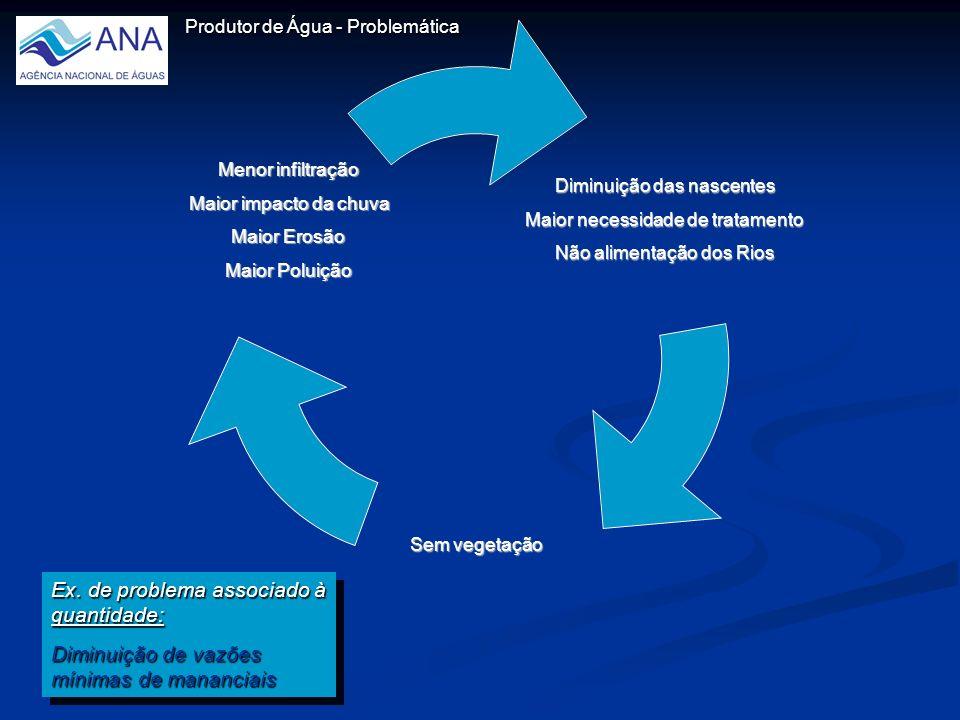 Produtor de Água - Problemática Ex.