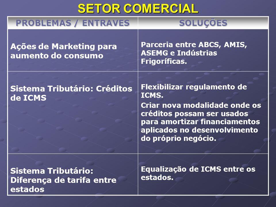 SETOR INSTITUCIONAL PROBLEMAS / ENTRAVES SOLUÇÕES Meio Ambiente Necessidade de recursos: R$ 15 milhões.