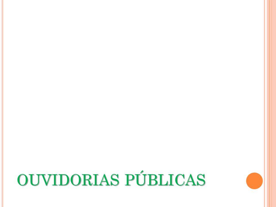 OUVIDORIAS PÚBLICAS