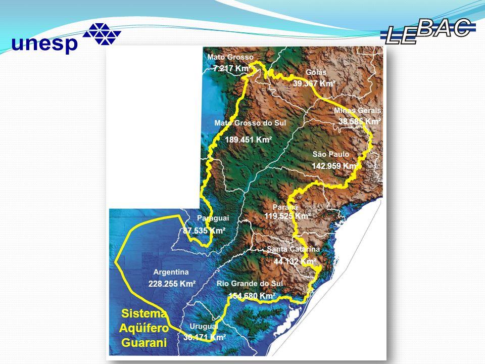 Modelo Hidrogeológico Conceitual do SAG Bolsista CNPq – Processo Nº 140.471/2003-0