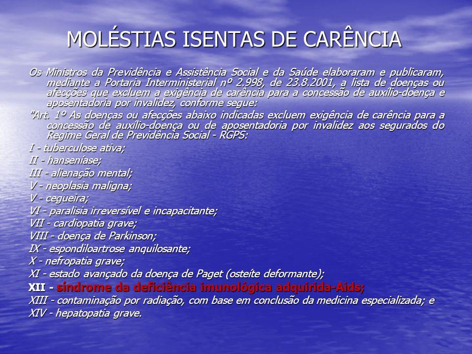 QUALIDADE DE SEGURADO Art.13.
